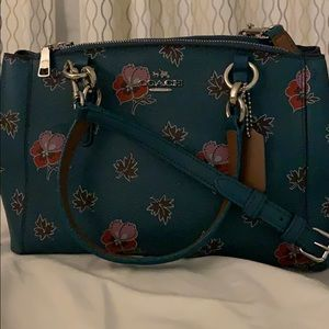 Coach Mini Christie Cary-All in Wildflower